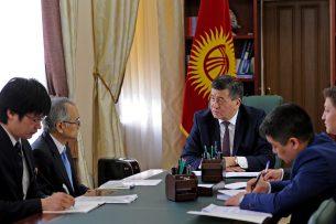 Премьер-министр встретился с новым послом Японии в Кыргызстане