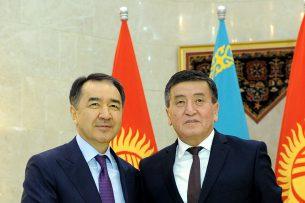 Премьер-министры Кыргызстана и Казахстана обсудили вопросы сотрудничества