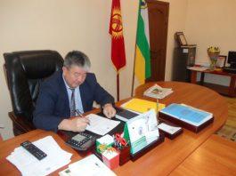 Самирдин Джумашев освобожден от должности акима Аламудунского района