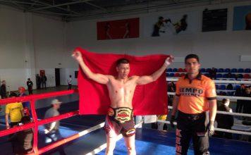 Кыргызстанец стал чемпионом мира по MMA в Азербайджане