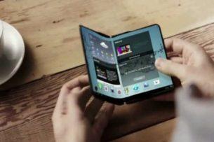 Samsung представит складной смартфон в конце года на выставке IFA 2017