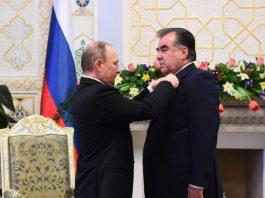 Таджикские чиновники смогут получать «иностранные» награды только с разрешения президента
