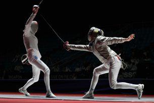 Кыргызстанец занял второе место на чемпионате Азии по фехтованию