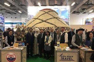 Кыргызские туроператоры приняли участие в международной туристической выставке в Берлине