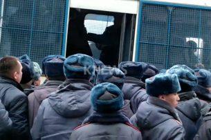 Милиция задержала нескольких участников мирного марша за свободу слова