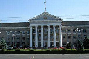 Мэрия Бишкека закупает саженцы деревьев и кустарников на 51 млн сомов