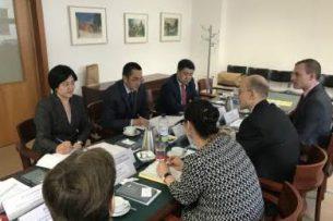 В Берлине состоялись кыргызско-германские межмидовские консультации