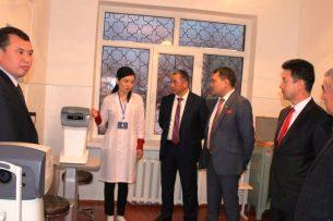 В Баткенской областной больнице открыли глазное отделение