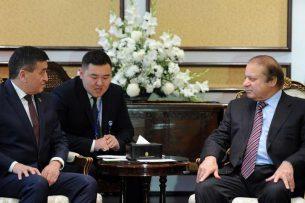 Жээнбеков: Для Кыргызстана сферы транспортных коммуникаций и энергетики – приоритетные направления сотрудничества