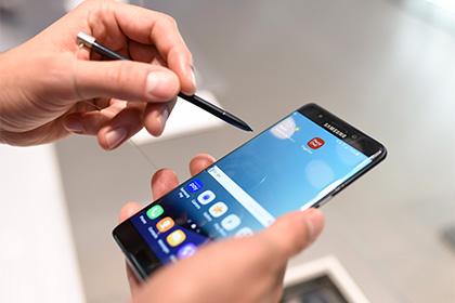Samsung вернет в продажу взрывоопасные Galaxy Note 7