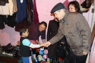 Свердловский акимиат оказал помощь нуждающимся горожанам