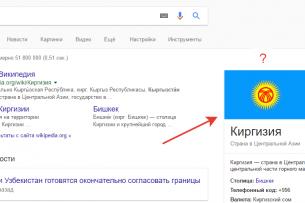 Поисковик Google перекрасил флаг Кыргызстана в синий