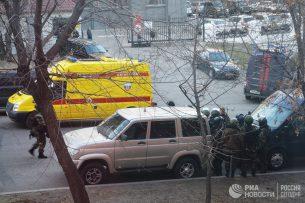 Кыргызстанец получил ранения во время нападения на приемную ФСБ в Хабаровске