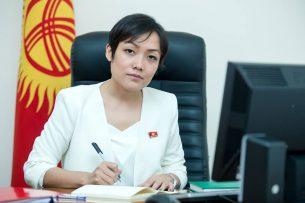 Вице-спикером Жогорку Кенеша стала Аида Касымалиева