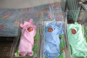 Хорошие новости: в Бишкеке женщина после ЭКО родила тройню