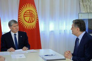 Алмазбек Атамбаев и председатель Коллегии ЕЭК обсудили предстоящее заседание ЕАЭС
