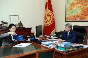 Генпрокурор рассказала президенту о демонтаже незаконных строений в Бишкеке