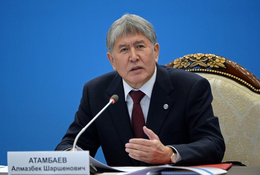 Атамбаев: Каждый защищающий Кыргызстан житель страны— мой преемник!