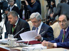 Серж Саргсян: Армения придает важное значение реализации ранее достигнутых соглашений с третьими странами