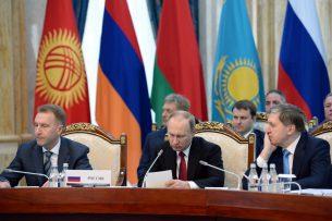 Владимир Путин: ЕАЭС стал «подушкой безопасности» несмотря на внешнюю конъюнктуру