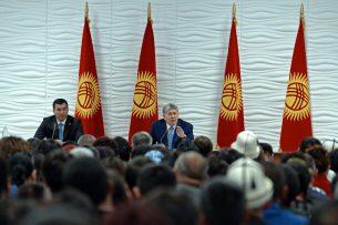 Президент ответил на актуальные вопросы жителей Иссык-Кульской области