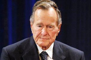 Экс-президента США Джорджа Буша-старшего госпитализировали