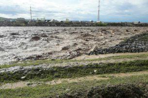 На реках Кыргызстана резко повысился уровень воды