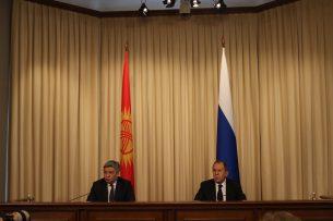 Глава МИД России выразил признательность Кыргызстану за солидарность в противостоянии терроризму