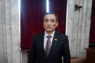 Саматбек Ибраев назначен руководителем аппарата Жогорку Кенеша
