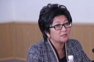 Министр соцразвития Кыргызстана уволилась