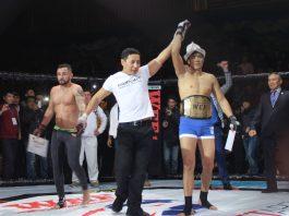 Борец из Кыргызстана завоевал «серебро» в Азербайджане