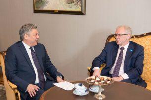 Эстония поможет Кыргызстану в реализации проекта «Таза коом»