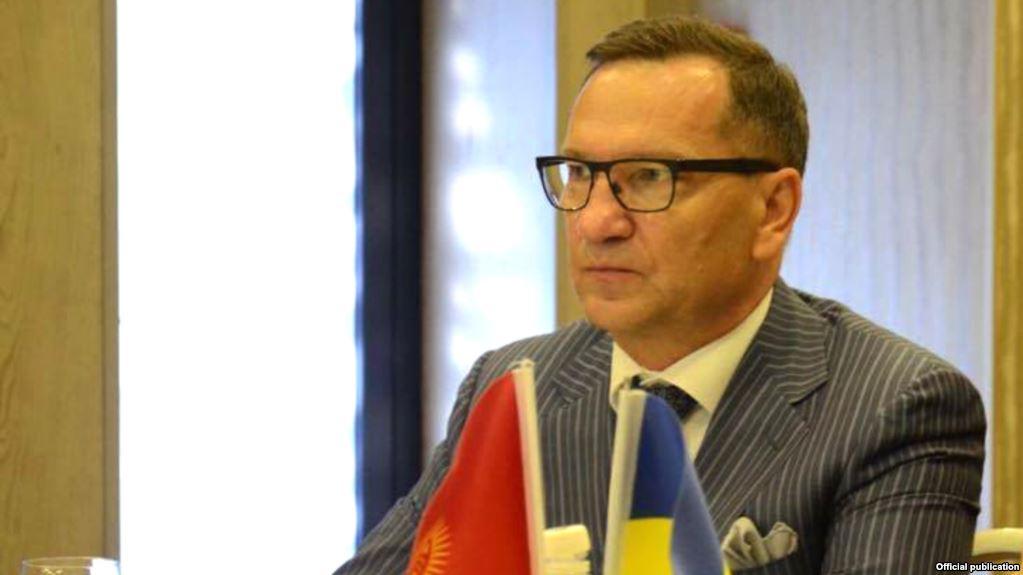 Посол Украины вКиргизии, вступивший вспор сПутиным, уволен
