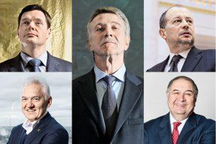 Forbes: совокупное состояние 200 самых богатых бизнесменов России выросло за год на $100 млрд