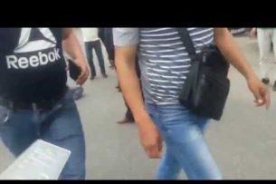 В Бишкеке совершили наезд на двух школьников, они в реанимации (видео)