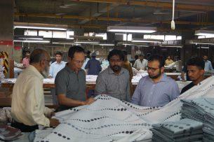 Бизнесмены Пакистана заинтересовались текстильной промышленностью Кыргызстана