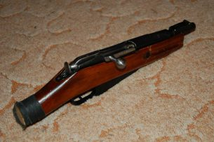В гараже бишкекчанина милиционеры обнаружили обрез