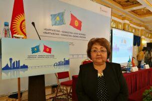 Рима Апасова: За пять лет на кыргызско-казахском бизнес-форуме были заключены контракты более чем на $150 млн