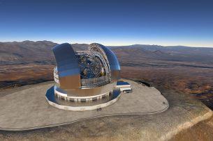 В Чили начали строить крупнейший в мире телескоп