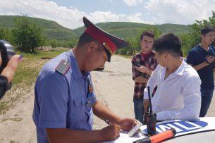 Во время рейда «Последний звонок» задержаны школьники, управлявшие автомобилями без документов