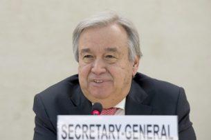 В июне Кыргызстан посетит генеральный секретарь ООН