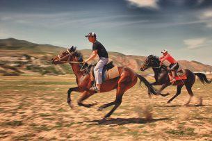 В Кыргызстане лошадей проверят на выносливость