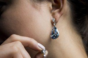 На аукционе Sotheby's бриллиантовые серьги проданы за рекордные $57 млн