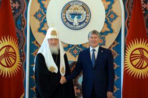 Президент КР и Патриарх Всея Руси обсудили значение религиозного образования в противодействии радикализму