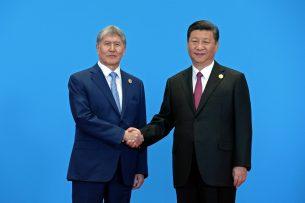 Глава Китая отметил важность участия Кыргызстана в реализации экономического пояса Шелкового пути