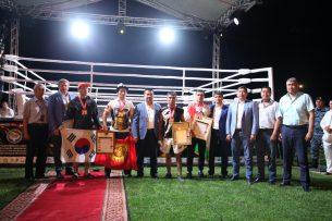 В Оше состоялся чемпионат Азии по смешанным единоборствам (фото)