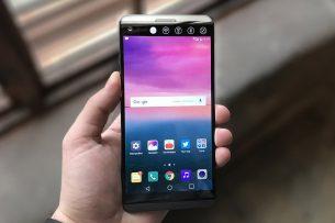 Новый LG V30 станет слайдером с двумя тачскринами