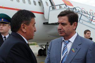 Сооронбай Жээнбеков прибыл в Казань для участия в заседаниях Совета глав правительств СНГ
