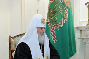 Патриарх Кирилл: В Кыргызстане православные люди не чувствуют себя ущемленными