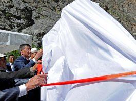Премьер-министр дал старт работам по модернизации Токтогульской ГЭС (фото)